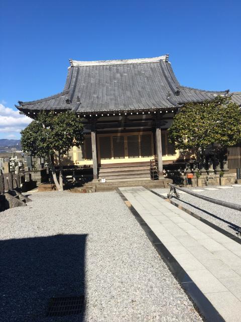 静岡県厳昌院の本殿