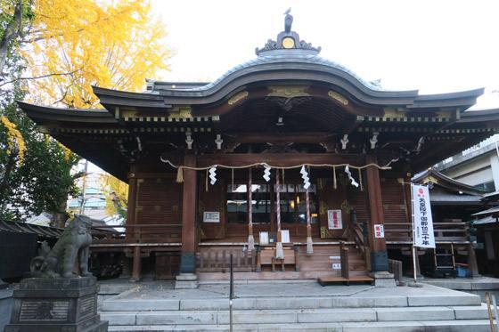 東京都下谷神社の本殿