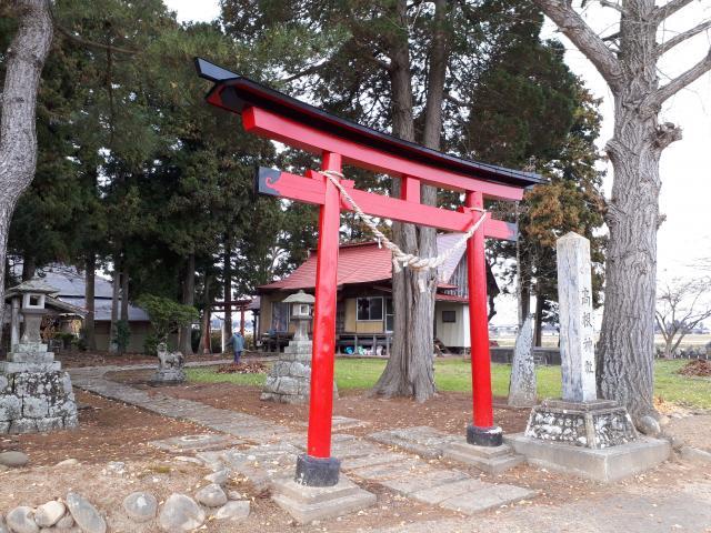 岩手県高根神社の鳥居