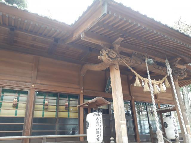 岩手県高根神社の本殿