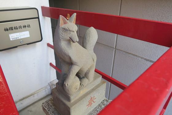 袖摺稲荷神社の狛犬