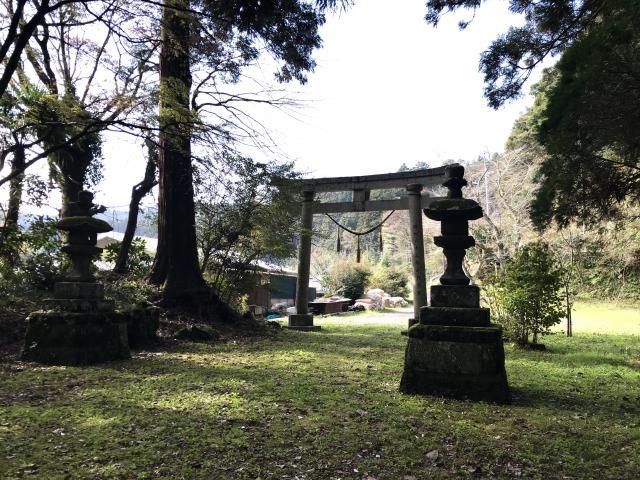 千葉県賀茂神社の鳥居