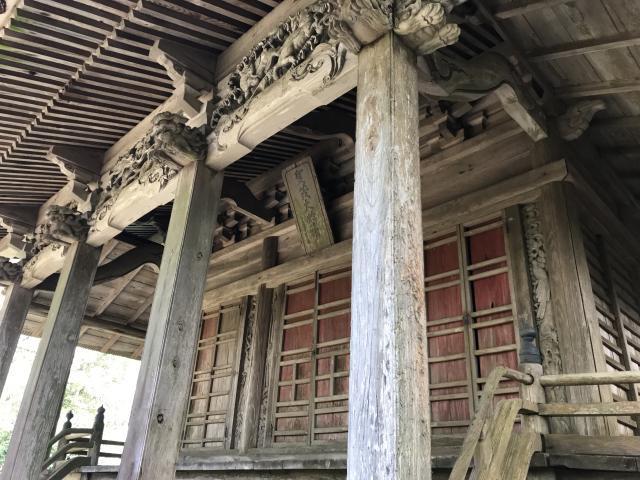 千葉県賀茂神社の本殿