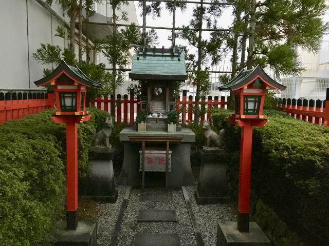 京都府鷹熊稲荷大明神の本殿