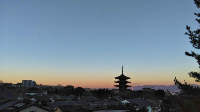 法観寺の景色