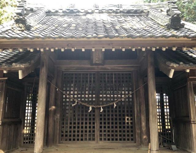 素戔嗚神社の本殿