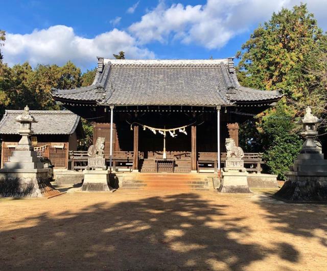 豊津神社の本殿