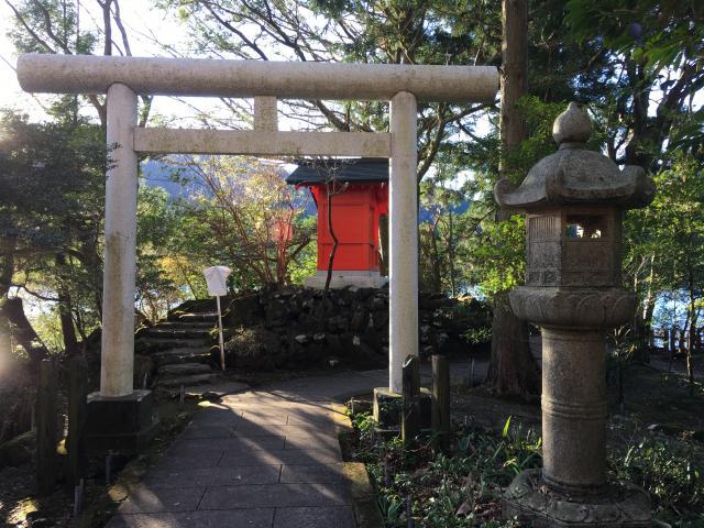 九頭龍神社(本宮)の鳥居