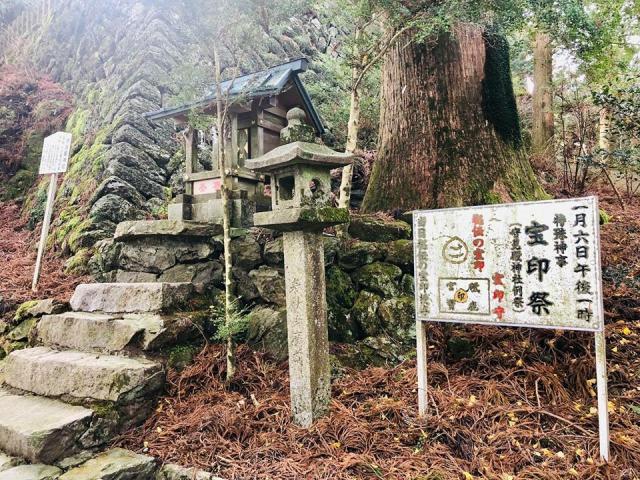 砥鹿神社(奥宮)の本殿