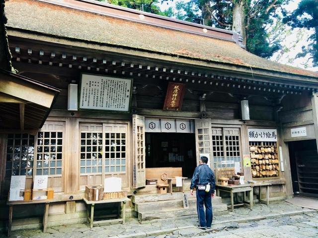 愛知県砥鹿神社(奥宮)の本殿