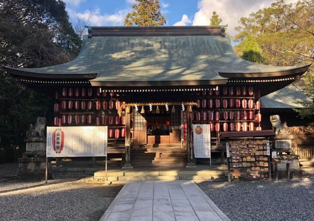 愛知県砥鹿神社(里宮)の本殿