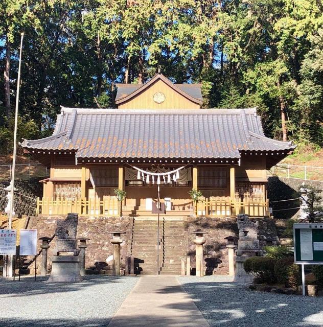 愛知県籰繰神社の本殿