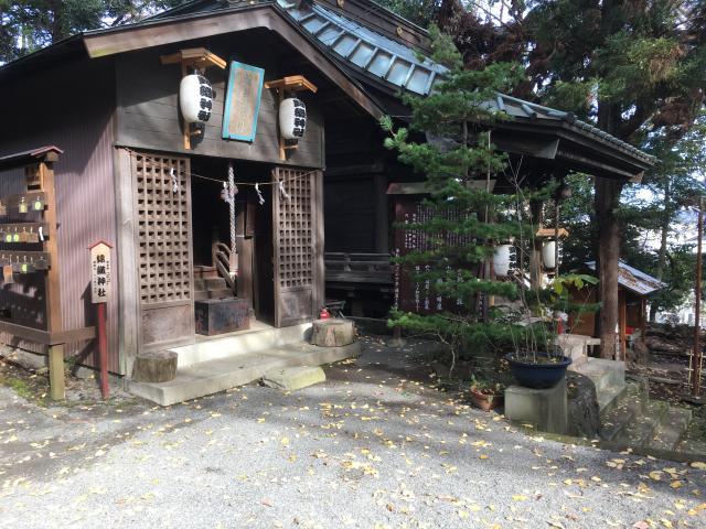 神奈川県大稲荷神社の本殿