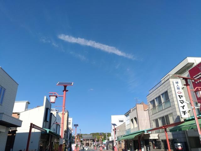 真清田神社の周辺