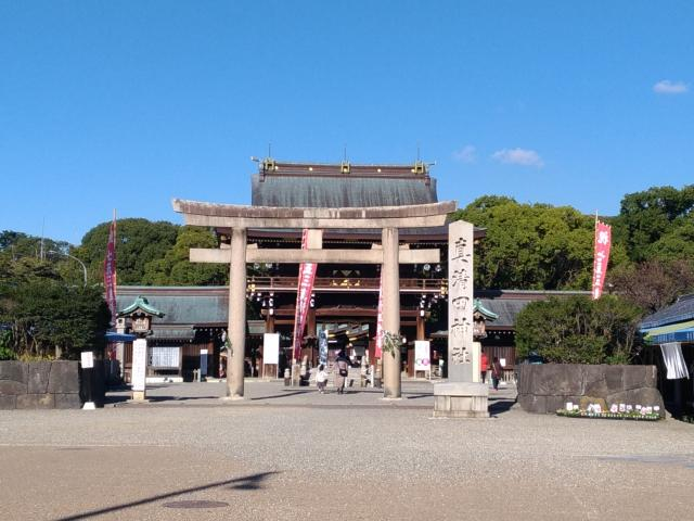 愛知県真清田神社の鳥居