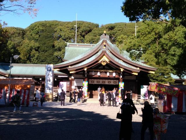 愛知県真清田神社の本殿