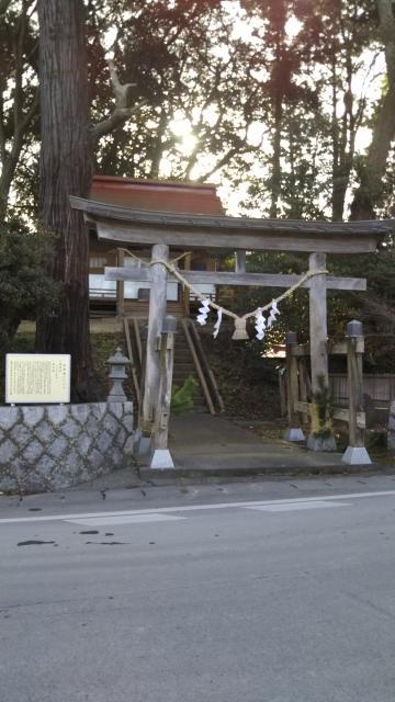 茨城県石神社の鳥居