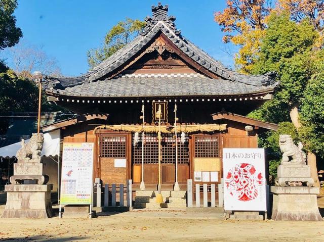 愛知県伊久智神社の本殿