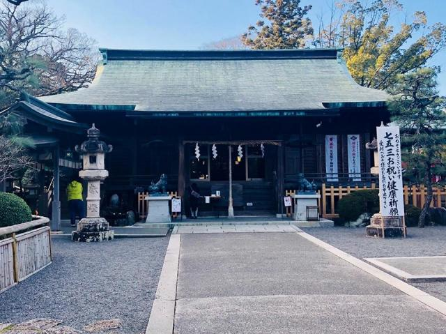 静岡県大井神社の本殿