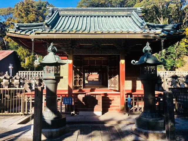 愛知県滝山東照宮の本殿