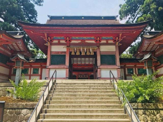 福岡県香椎宮の本殿