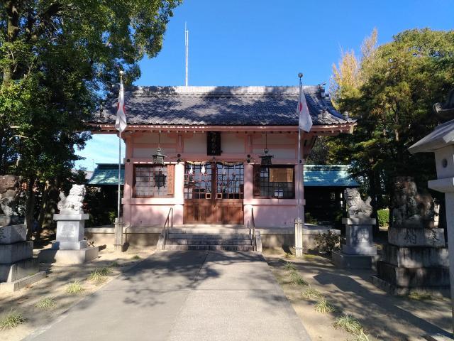 愛知県大神神社の本殿